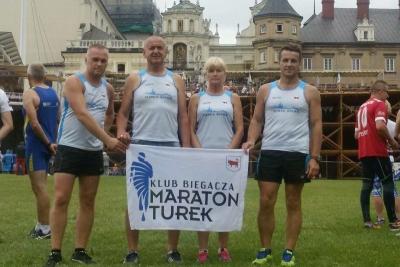 Klub Biegacza Maraton Turek z Uniejowa na Jasną Górę